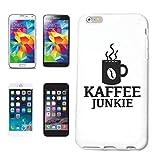Helene - Funda para iPhone 7, diseño de café, primavera, lunes, funda protectora