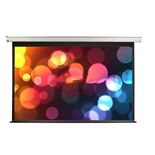 Pantalla de proyección de 84 pulgadas, pantalla de proyector eléctrica, pantalla 3D4K de alta definición para el hogar del proyector, que se puede utilizar para pantallas de cine en casa en interior
