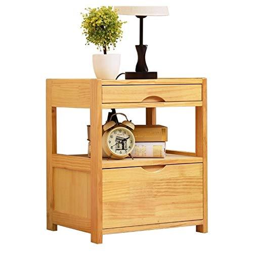 Productos para el hogar Mesa de noche de madera rectangular moderna // Gabinete con 1 cajón para almacenamiento para el dormitorio, sala de estar, muebles para el hogar, mesa auxiliar (Color: Blanc