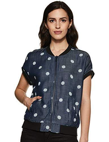 Levi's Women's Jacket (58784-0000_Blue_S)