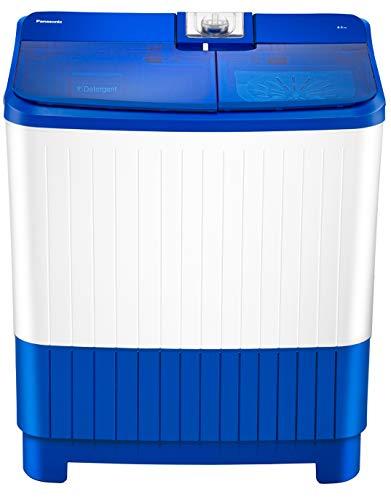 Panasonic 8.0 Kg Semi-Automatic Top Loading Washing Machine (NA-W80B5ARB, Blue)
