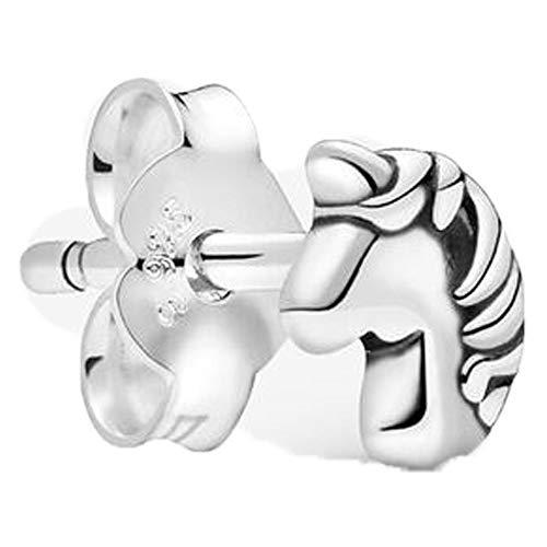 Pandora Pendientes de botón Plata esterlina No aplicable - 298535C00