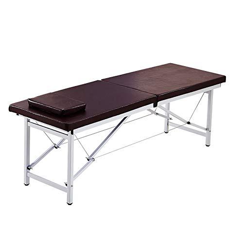 MGW Tables de Massage Portables 2 Sections avec Trou pour Le Visage pour impliquées dans la...