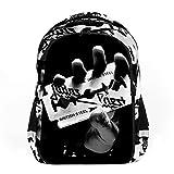 Judas Priest English Metal adecuado para adultos, niños, adolescentes, niños, niñas y mochilas de moda