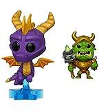 Funko Pop! Figura De Vinil Games: Spyro The Dragon Spyro + Pop! Figura De Vinil Games: Spyro The Dragon Spyro
