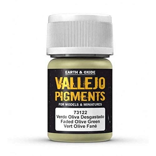 Pigments Vallejo 30 ml Faded Olive Green