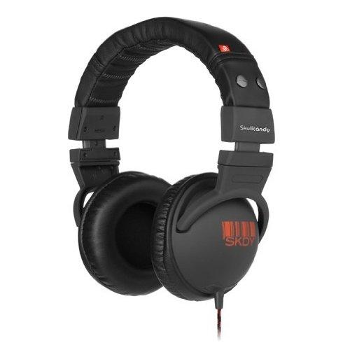 Skullcandy Hesh - Auricular supraural con micrófono, color carbono/rojo