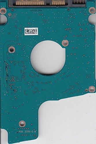 MQ01ABD075, HDKBB97T3A01 T, AA11/AX0A3M, Toshiba SATA 2.5 Leiterplatte (PCB)