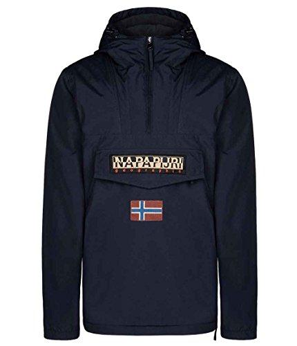 Napapijri Mens Rainforest Winter Jacket Blu Marine N0Y5XE176 XL