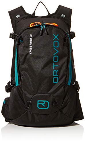 Ortovox Cross Rider 20 Rucksack, 54 cm, 20 L, Black Raven