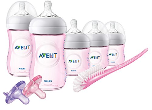 Philips Avent Natural Baby Bottle Gift Set Seahorse design, SCD113/37