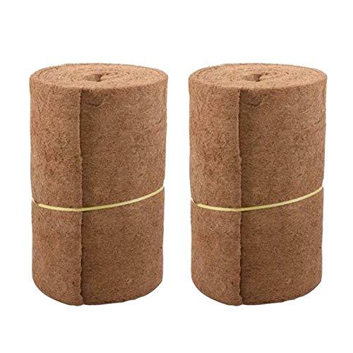 CALIDAKA Coconut Mat,Coconut Liner Sheet 60x85cm Growing Mat Made of Natural Coconut, Ecological Garden Flowerpot Basket Insulation Coconut Mat Home Decoration Liner