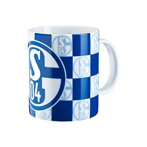 FC Schalke 04 - Taza (tamaño único), diseño de cuadros