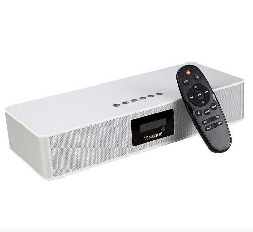Altavoz Bluetooth tarjeta de radio wireless home audio U disco alquiler de altavoces para ordenador blanco