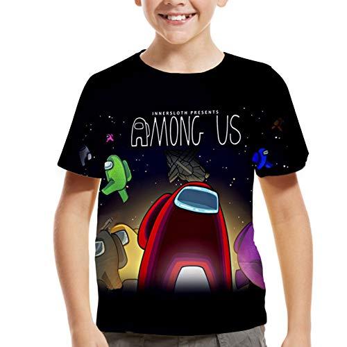 shirts tweens Among Us Shirt for Big Kids Boys Girls,Back to School Short Sleeve Tops for Teens