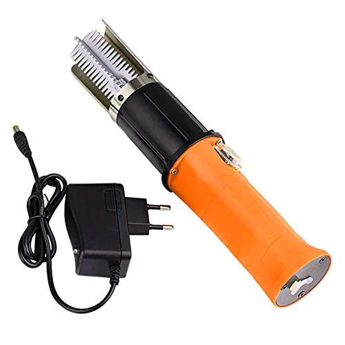 ASOSMOS 1 Stücke Elektrische Fish Scaler Angeln Scalers Reiniger Entferner Reiniger Entkalker Wasserdicht (EU)
