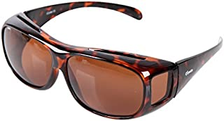 Yodo Fit Over Glasses Sunglasses with Polarized Lenses for Men and Women