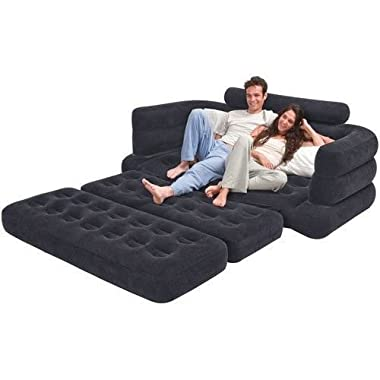 Intex Sectional Sleeper Sofa Futon Living Room Furniture Couch Bed Loveseat