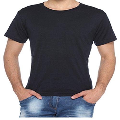 HARBORNBAY Harbor N Bay Men's Cotton Blended Pack Of 6 T-Shirt X-Large Black