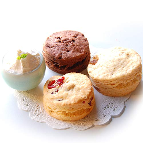 famfam 冬のリッチハニースコーンセット (7個入 スコーンクリーム2個付き)