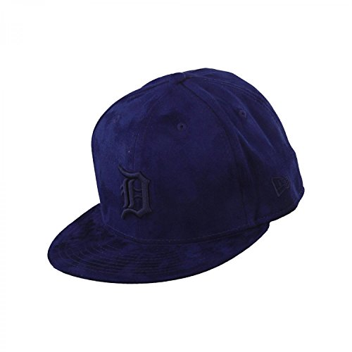 New Era Detroit Tigers 59fifty Basecap Suede Tonal Dark Royal - 7 - 56cm