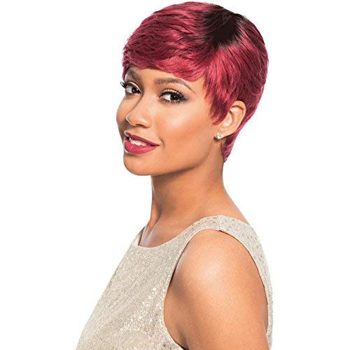 Sensationnel Empire Celebrity Series 100% Human Hair Wig - CAREY (1B)
