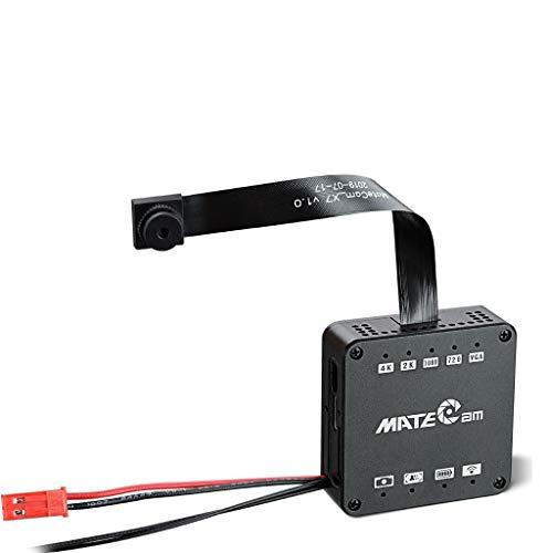 Real 4K WiFi Ultra HD Mini Telecamera spia nascosta Hidden Spy Cam nascosta Pinhole Cam Security camera rilevatore di movimento Loop Registrazione support to 400GB (4k fotocamera+Scocca in metallo)