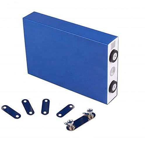 LeiQuanQuan Nueva celda 3.2V LIFIUM LIFEPO4 Batería Recargable Celda 100AH 105AH 24V 48V Paquete de batería para Sistemas solares UPS Carrito de Golf Free YH (Size : 4pcs)