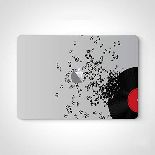 Computer Vinyl Skin Abstract Music Disk Vector Illustration Laptop Skin Sticker For Women For Macbook Air 13' Pro 13'/15'/16' 2008-2020 Version Laptop Keyboard Decal Sticker