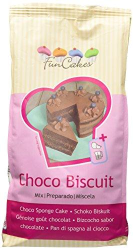 FunCakes Miscela per pan di spagna al cioccolato Confezione da 1 kg