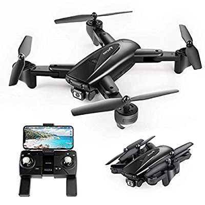 SNAPTAIN SP500 Foldable GPS FPV Drone with 2K HD Camera Live Video for Beginners, RC Quadcopter with GPS Return Home, Follow Me, Gesture Control, Circle Fly, Auto Hover & 5G WiFi Transmission