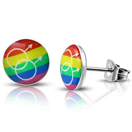 Pendientes Pendientes Acero Gay Homo