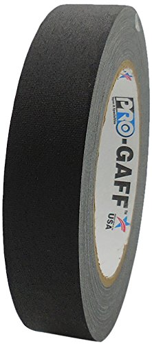 Pro-Gaff RS161BK24X25 24 mm x 25 yd Matt Cloth Tape