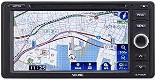 SOLING(ソーリン) 7型ワイド カーナビ SL1118NVW-MK2 ワンセグ/Bluetooth/USB/CD搭載 19年冬版地図搭載 電源ケーブル2種類同梱【Amazon.co.jp限定】