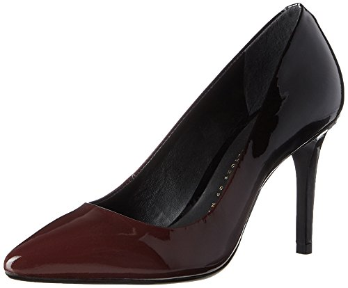 Bronx Damen BX 1245 BcoteX Pumps, Schwarz (Ruby/Black), 39 EU