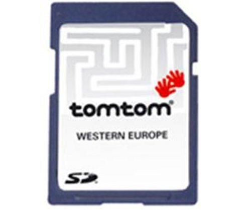 Tomtom Karten von Westeuropa auf SD Karte V6.75 für Tomtom One und Go