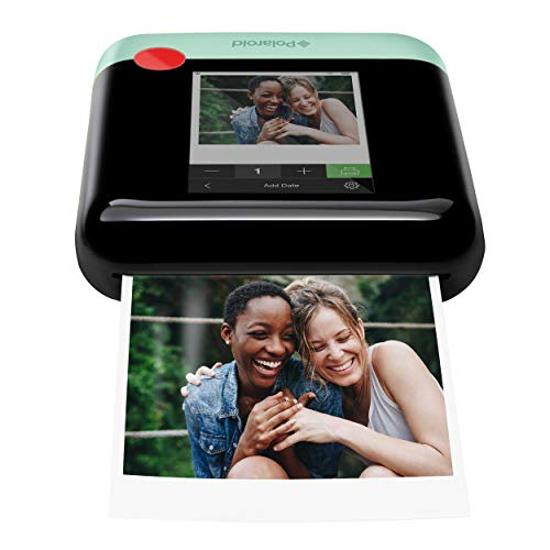 Zink Polaroid WiFi Wireless 3x4 Portable Mobile Photo Printer (Green) with LCD Touch Screen, Compatible w/ iOS & Android