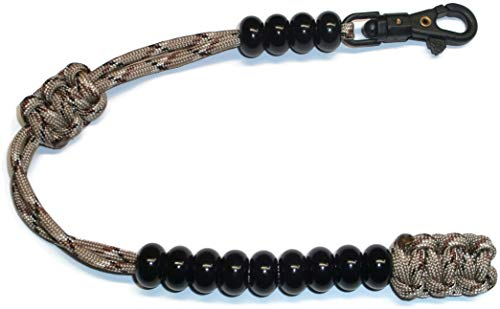RedVex Ranger Style Cobra Pace Counter Beads Paracord/Survival 13' Desert Camo