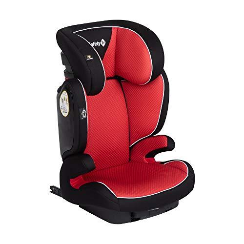 Safety 1st Road Fix Seggiolino Auto Isofix 15-36 kg, Gruppo 2/3, Unisex Bambini, dai 3.5 Anni ai 12 Anni, Rosso (Pixel Red)