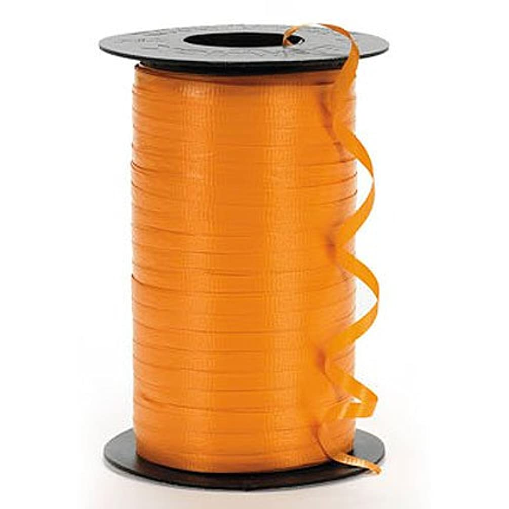 Fun Express Orange Curling Ribbon (1 roll)