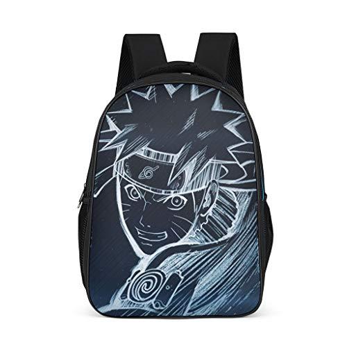 Mochila escolar para niños, diseño de anime de Naruto