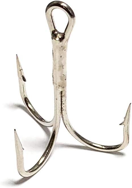 100 high quality treble hook,size 7#