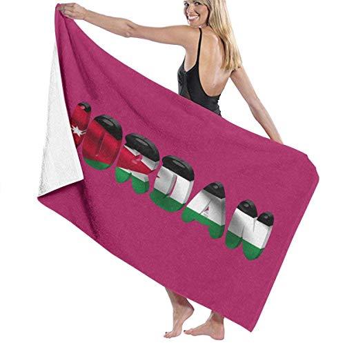 Abel Berth Toalla de baño Orgullosa de la Bandera de Jordan