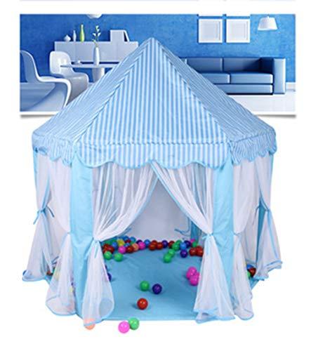 LZNK Kinderzelt Indoor Tüll Hexagon Zelt Baby Dekoration Spielhaus Schloss Zelt Kinderspiel Haus