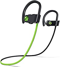 Fitniv U8I Bluetooth Headphones, IPX7 Waterproof Wireless Sport Earbuds in-Ear, HiFi Bass Stereo Running Headphones with Noise Canceling Mic for Workout Fitness Gym, Up to 10 Hours Playtime