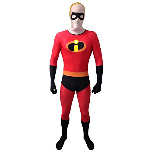 morphcostumes mlmrsicm Mrs Incredibile Costume Travestimento (UK 12 – 14), Medium