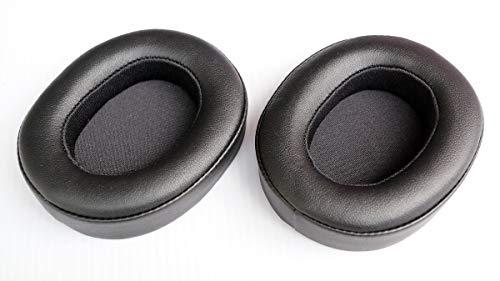 Repuesto almohadillas de repuesto para auriculares JBL E55BT sobre auriculares E55BT Quincy Edition (Negro) 1 par