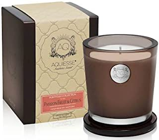 Aquiesse Passion Fruit Citrus 11oz Collection Gift Boxed Scented Soy Candle