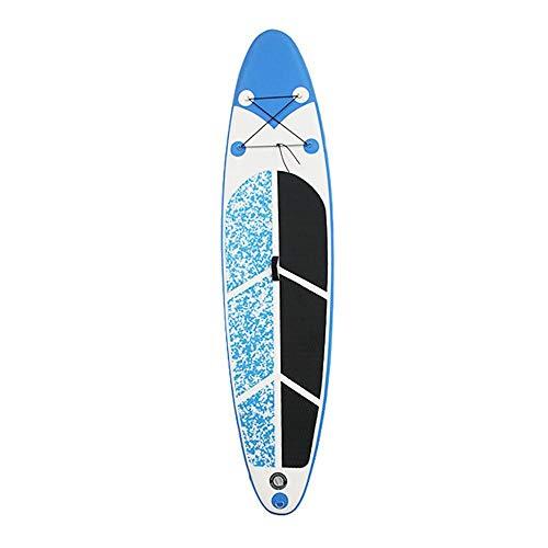 Duan Tabla de Surf Hinchable Mistral, Azul Tabla de Paddle para NiñOs Adultos Tabla de Paddle Stand Up de PVC con Hebilla D de Acero Inoxidable