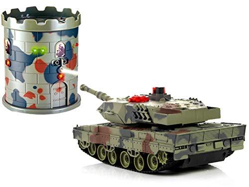 POCO DIVO Abrams vs. Terrorist Fort Combat Fight M1A2 USA Tank RC Infrared Battle Panzer